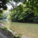 日本で最初に仏教の経典が届いた場所と言われる小船越(西漕手)