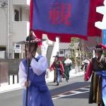 毎年夏に開催される朝鮮通信使再現行列
