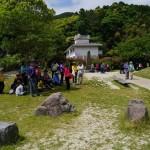 韓国人観光客でに賑わう旧金石城庭園