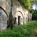 明治時代に建設された戦争遺構 姫神山砲台跡